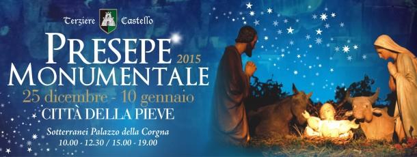 il Presepe Monumentale 2015 a Città della Pieve